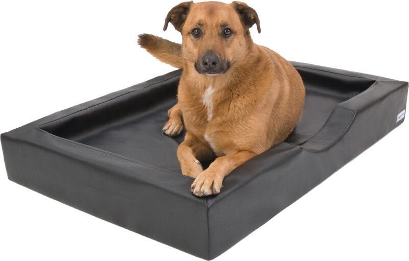 Orthopädisches Hundebett Visko Compact Style braun
